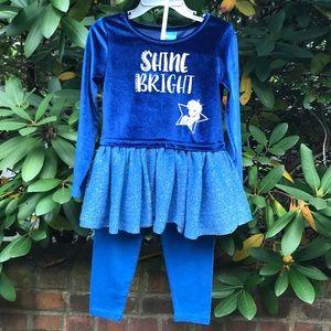Disney Toddler Girl Matching Set *4T